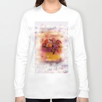 flora Long Sleeve T-shirts featuring Flora  by Music of the Heart