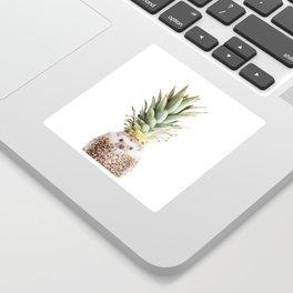 Hedgehog Pineapple Sticker