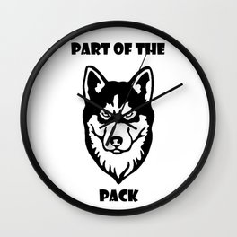 Part of the Pack Wall Clock