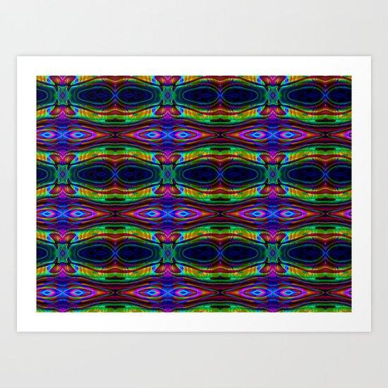 Alien Eyes Art Print