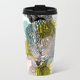 out bird Metal Travel Mug