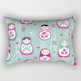 Matryoshka Dolls Rectangular Pillow