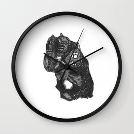High Four Wall Clock