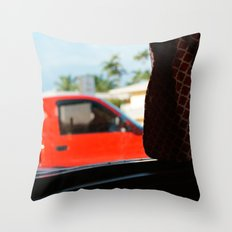 #jimmy`s diner- miami---still life by Jay Hops - indoor streetart Throw Pillow