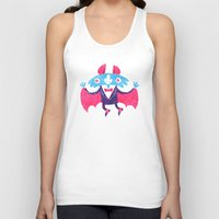 bat Tank Tops featuring Bat by David Fernández Huerta