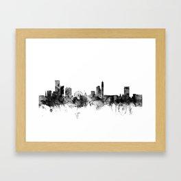 Birmingham England Skyline Framed Art Print