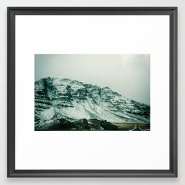 Ice Wall Framed Art Print