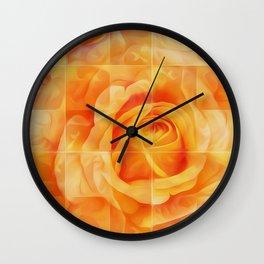 Roze Wall Clock
