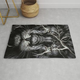Lion Art Design Rug