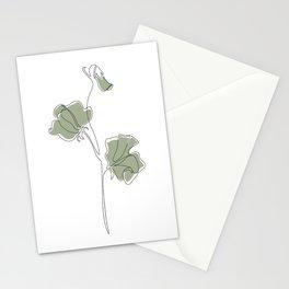 Matcha Sweet Pea Stationery Cards