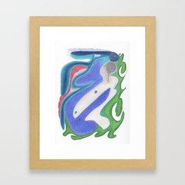 Drawing #111 Framed Art Print