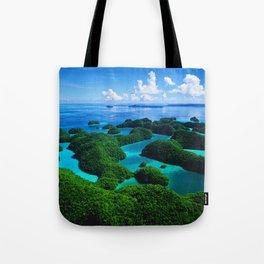 Palau Islands' Tropical Paradise Tote Bag