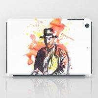 indiana iPad Cases featuring Indiana Jones by idillard