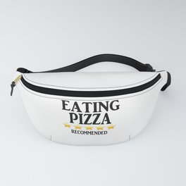 Eating Pizza - Recommended Fanny Pack