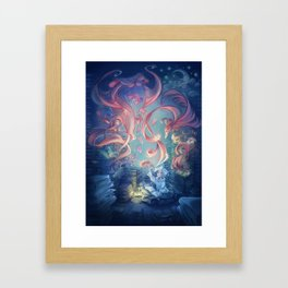 The Storyteller Framed Art Print