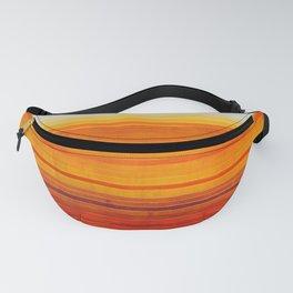 Yellowstone Orange Fanny Pack