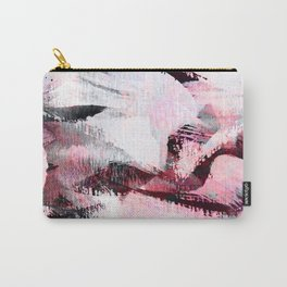 abstract painting with a little pink shade Carry-All Pouch