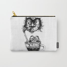 Graphic face Carry-All Pouch