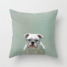 BILL the Bulldog Throw Pillow