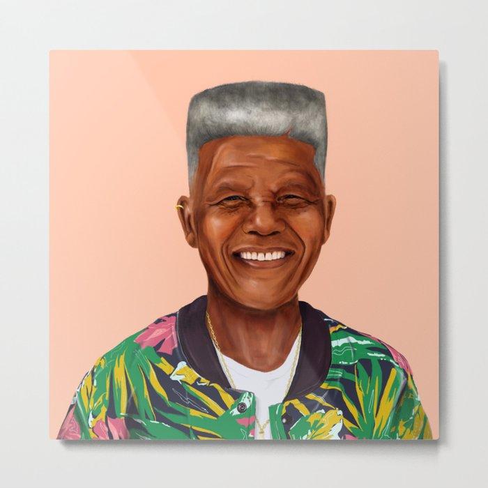 Hipstory - Nelson Mandela Metal Print