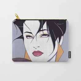 80s Vector Girl Art Carry-All Pouch