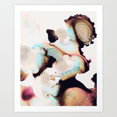 Pretty Ink 1 Art Print