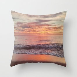 Race Point Sunset Throw Pillow
