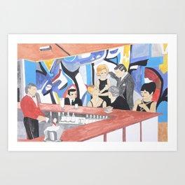 Hotel Ambassador, Opatija, 1966 Art Print