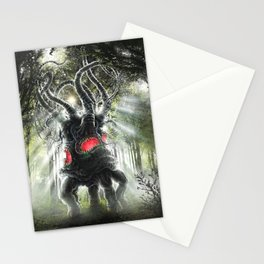 Dark Young Stationery Cards