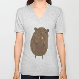 Grizzly Made an Effort Unisex V-Neck