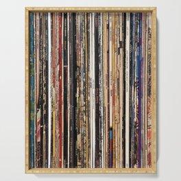 Jazz, Funk & Soul Vinyl Records Serving Tray