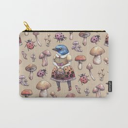 Mushroom Pickers - Lady Blue Carry-All Pouch