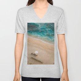 Beach Vacation Unisex V-Neck