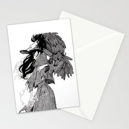 The Witch of Prey Stationery Cards
