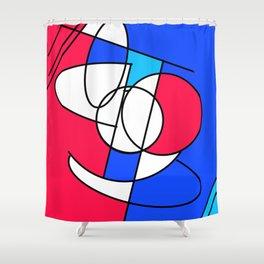 Problem Face Shower Curtain