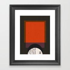 Eject Framed Art Print