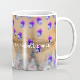 Flower in the Mountains Coffee Mug