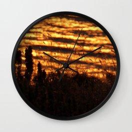 sunny haze Wall Clock