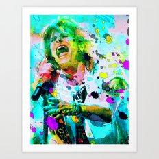 Steven Tyler  Art Print