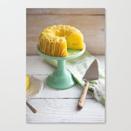 Celebration Cake Canvas Print