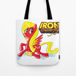 Iron Butterfly Tote Bag
