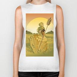 demeter ceres greek roman mythology goddess of agriculture on plantation Biker Tank