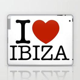 I love Ibiza Laptop & iPad Skin