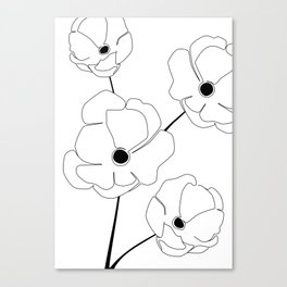 Bloomed Flower Canvas Print