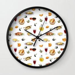 Portuguese food Wall Clock