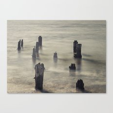 The Old Pier Canvas Print