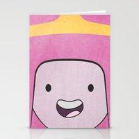princess bubblegum Stationery Cards featuring Princess Bubblegum by Some_Designs