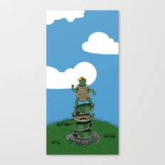 Yertle The Turtle Canvas Print
