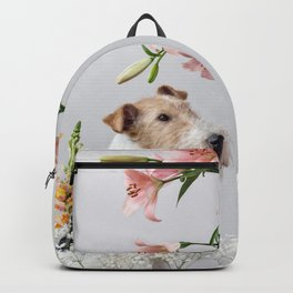 My baby sent me flowers Backpack