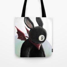 Eightball demon Tote Bag